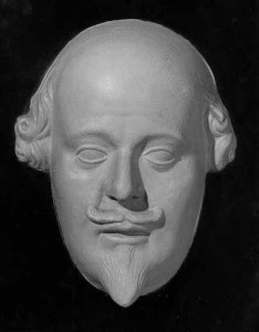 William Shakespeare (face mask cast from the Stratford monument)