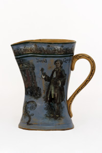 Water Jug showing David Garrick