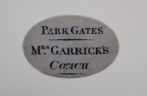 Eva Maria Garrick's Coach Pass