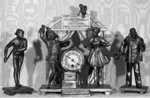 """Gringalet Theatre"" Clock"