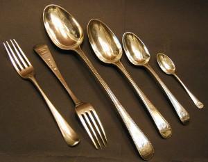 David Garrick's Cutlery
