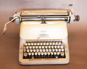 Keith Waterhouse's typewriter