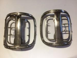 John Bannister's silver paste shoe buckles
