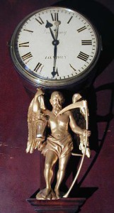 """Father Time"" clock"