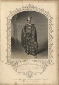 Mr M'Kean Buchanan as Macbeth