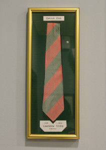 Lawrence Irving's Garrick Club tie