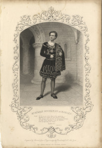 Mr M'Kean Buchanan as Hamlet