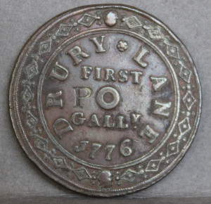 Drury Lane token