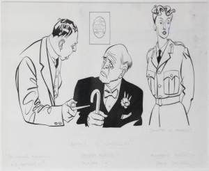 A.E. Matthews, Alastair Sim and Joyce Grenfell