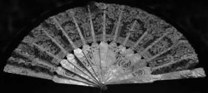 Nellie Farren's lace fan