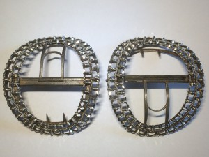 William Smith's silver shoe buckles