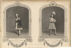 Miss Ellen Bateman as Richard III and Miss Kate Bateman as Richmond