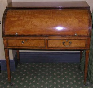 Dorothy Jordan's desk