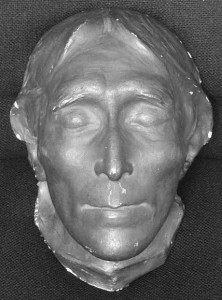 Sir Henry Irving's death mask