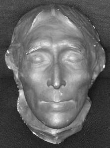 Sir Henry Irving's death mask