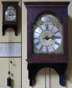 A lantern clock