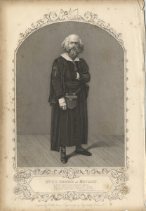 Mr G. V. Brooke as Shylock