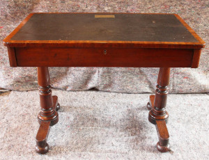 William Makepeace Thackeray's writing desk