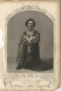Mr G. V. Brooke as Othello