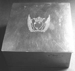 Lord Alfred Douglas's cigarette box