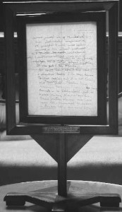 Letter by John Galsworthy