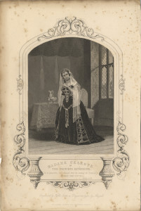 Madam Celeste as The Princess Katherine