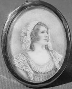 Julia Emilie Neilson in character