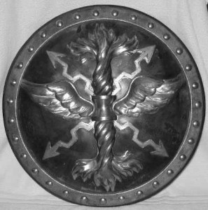 John Philip Kemble's shield