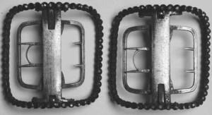 Charles Kean's paste shoe buckles