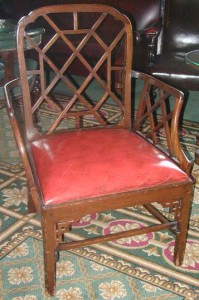 Henry Irving's chairs