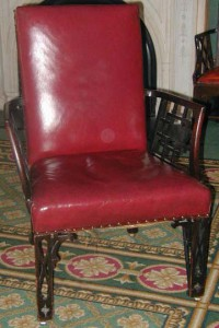 David Garrick's Chippendale stylechairs