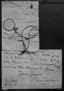 John Lawrence Toole's Eyeglass
