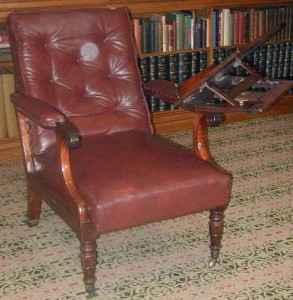 Samuel Phelps's Reading Chair