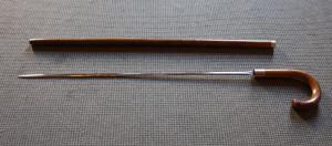 Maurice Druon's sword-stick
