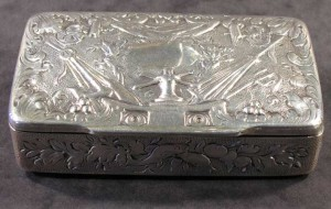 Fred Terry's snuffbox Snuff box