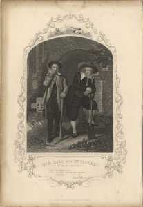 Mr H Hall and Mr Vaudrey (of the T. R. Birmingham) [as the Gravediggers, Hamlet]