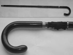Gerald du Maurier's umbrella stick