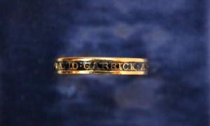 David Garrick Memorial ring