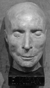 Edmund Kean's death mask