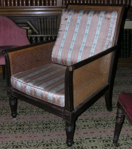 William Makepeace Thackeray's chair