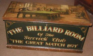 """Great Match 1871"" trunk"