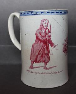 Mug with Charles Macklin and Henry Woodward