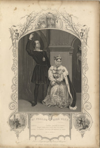 Mr Phelps and Miss Glyn [as Hamlet and Queen Gertrude]